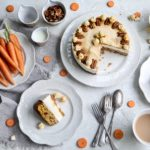 Carrot and Salted Caramel Cheesecake